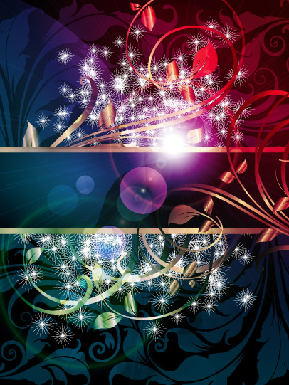 free vector Bright shiny background vector