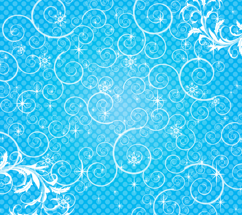 free vector Bright stars background 02 vector