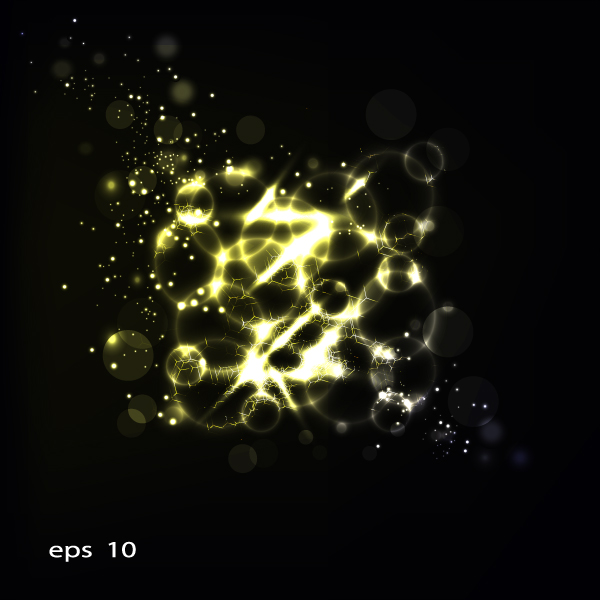 free vector Bright stars background 05 vector