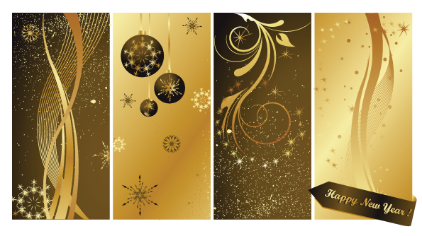 free vector Bright stars background vector