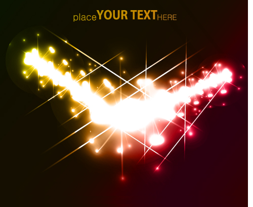 free vector Bright stars gorgeous special effects 05 vector