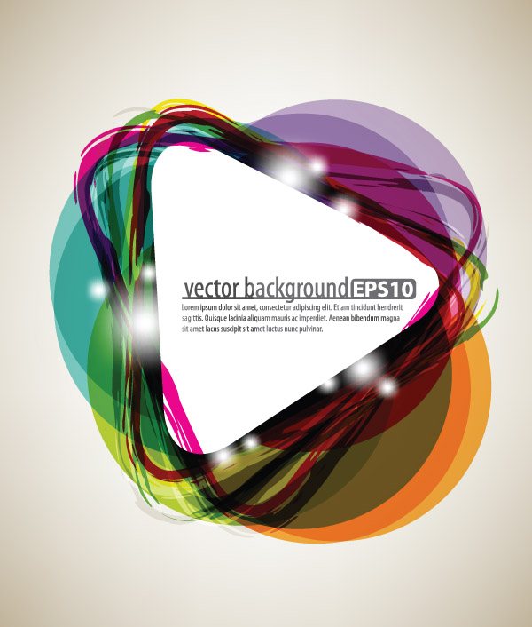 free vector Bright starstudded background 01 vector