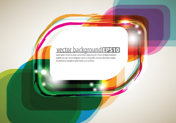 free vector Bright starstudded background 02 vector
