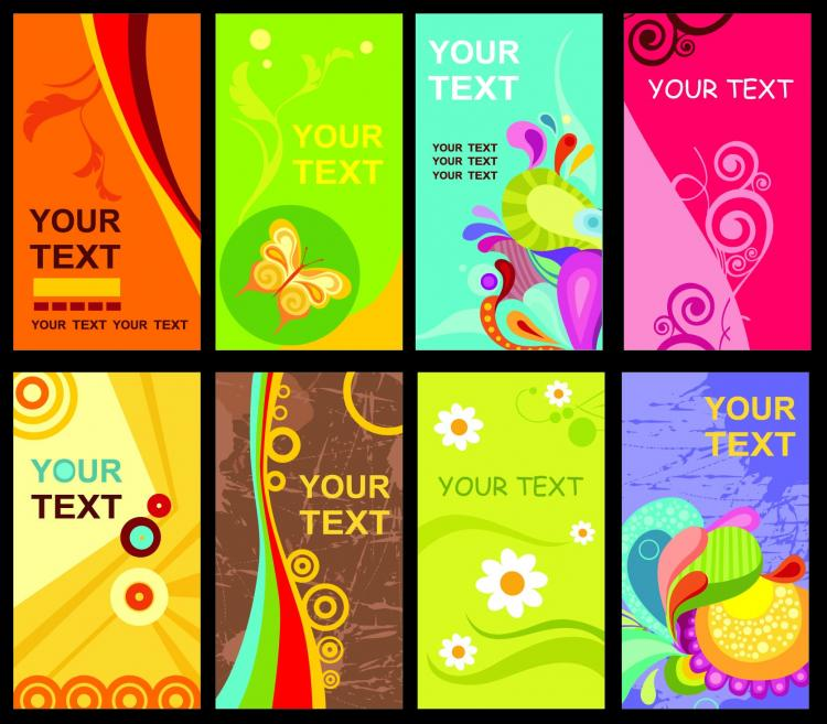 Brilliant business card templates vector Free Vector 4Vector