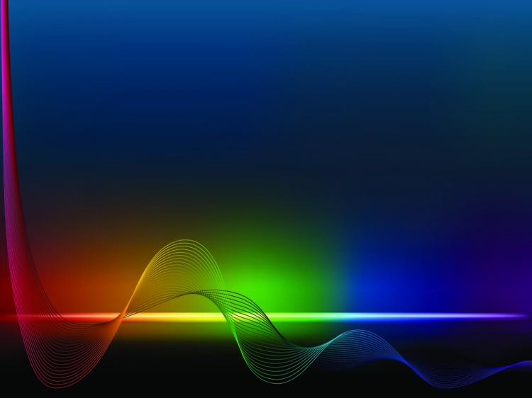 free vector Brilliant color dynamic flow line 01 vector