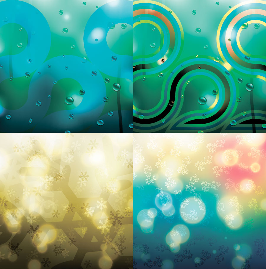 free vector Brilliant fantasy background 04 vector