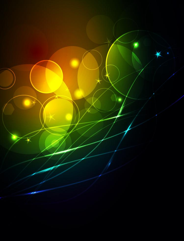 free vector Brilliant glow vector