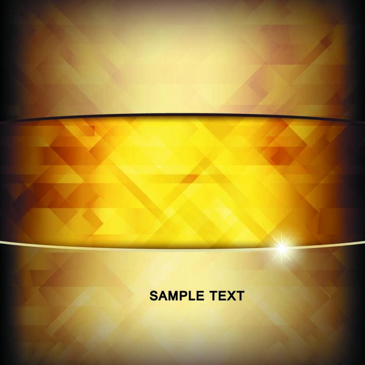 free vector Brilliant gold background 03 vector