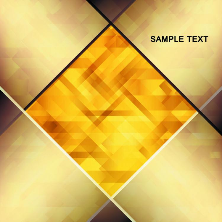 free vector Brilliant gold background 04 vector