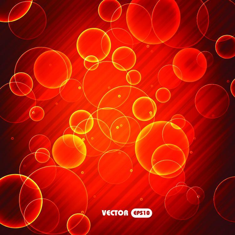 free vector Brilliant halo background 03 vector