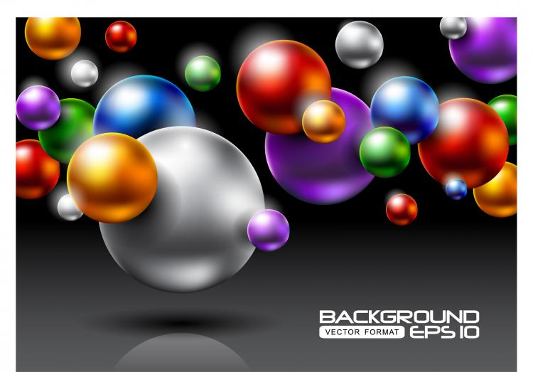 free vector Brilliant halo background 04 vector