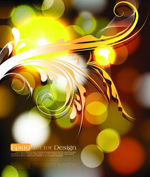 free vector Brilliant illustration background pattern vector