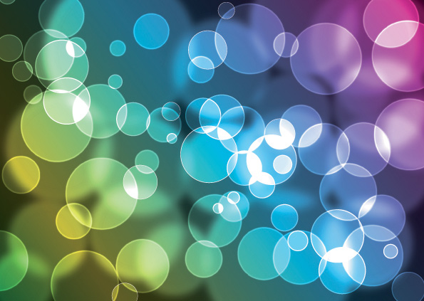 free vector Brilliant light vector background 2