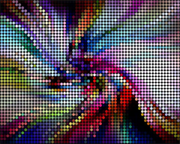 free vector Brilliant neon color background image 06 vector