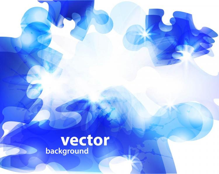 free vector Brilliant puzzles halo 01 vector