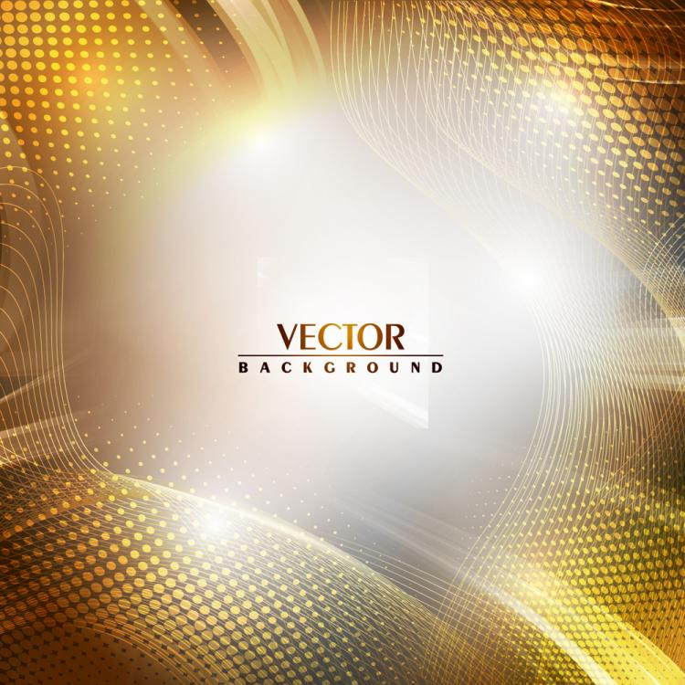 free vector Brilliant sense of science and technology background 02 vector