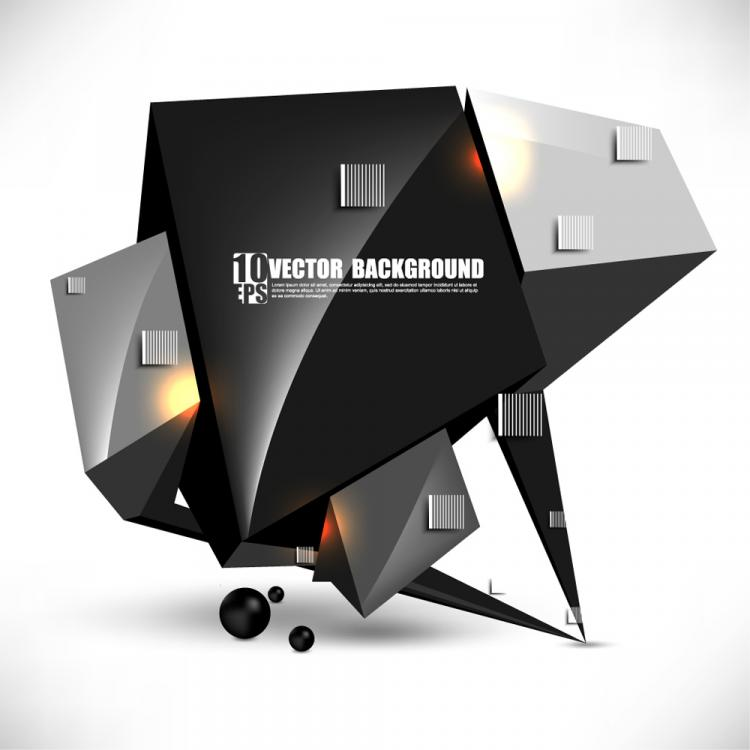 free vector Brilliant sense of science and technology background 03 vector