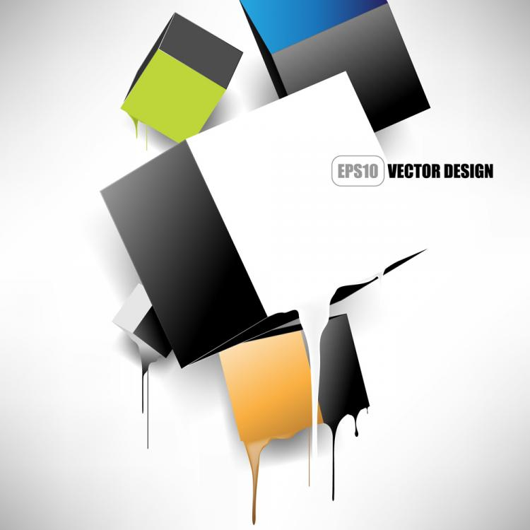 free vector Brilliant trend background 05 vector