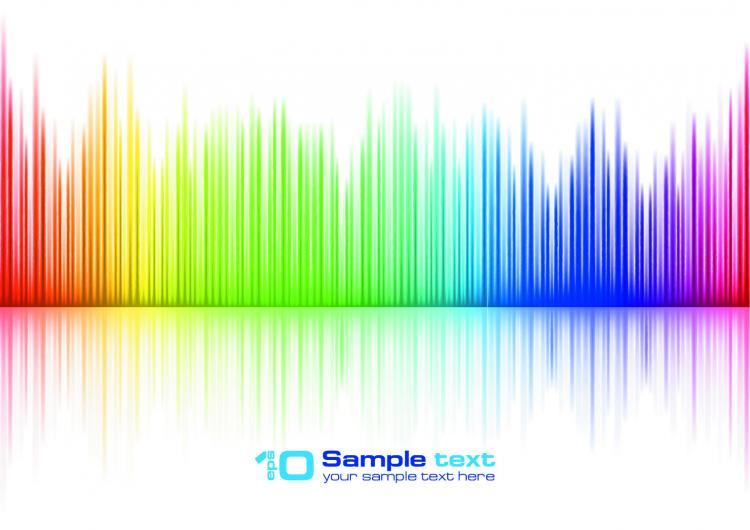 free vector Brilliant vibrant colors 02 vector
