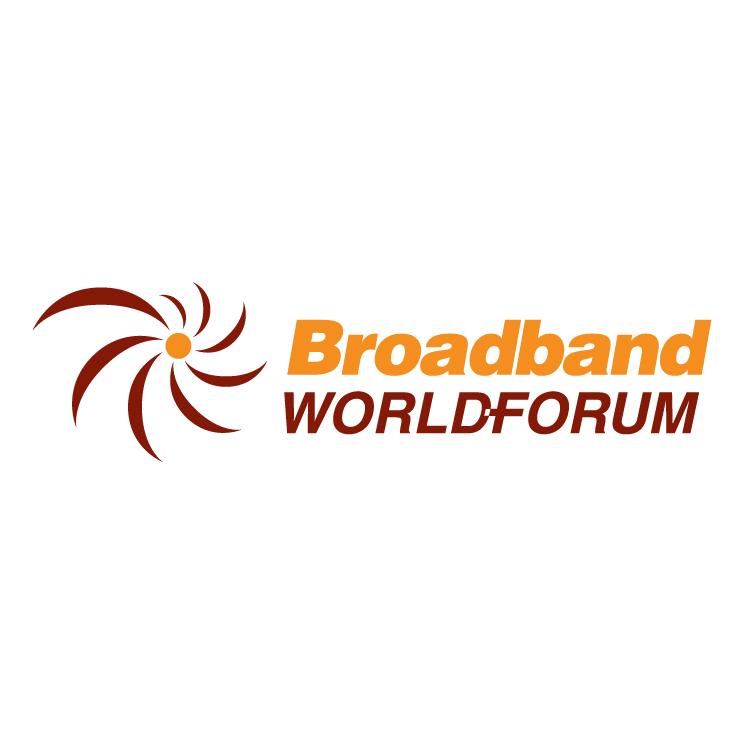 free vector Broadband world forum