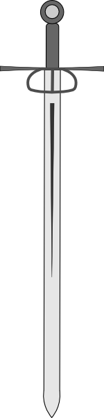 free vector Broadsword clip art