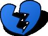 free vector Broken Heart clip art