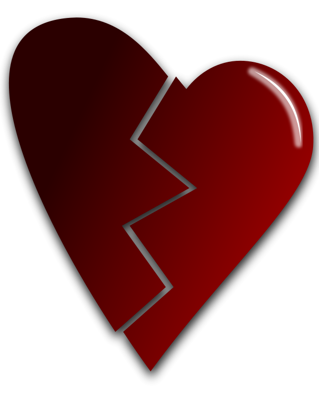 free vector Broken heart