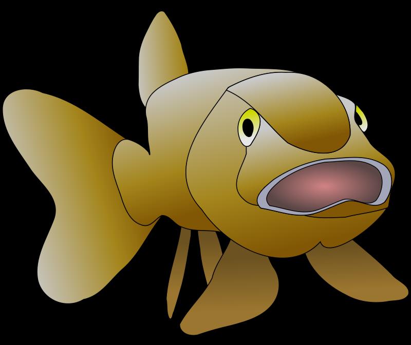 free vector Brown fish
