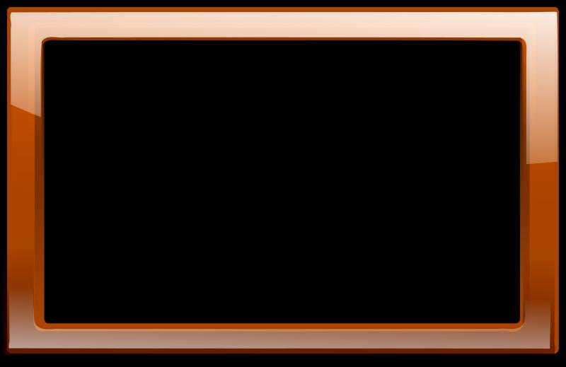 free vector Brown Orange Frame