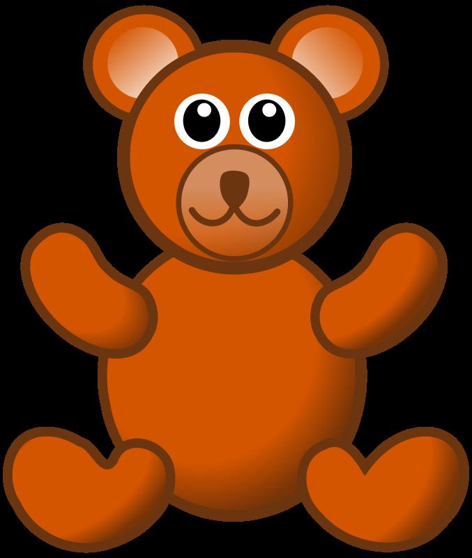 free vector Brown teddy