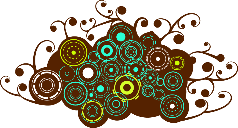 free vector Browncircles