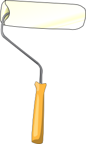 free vector Brush Roller clip art