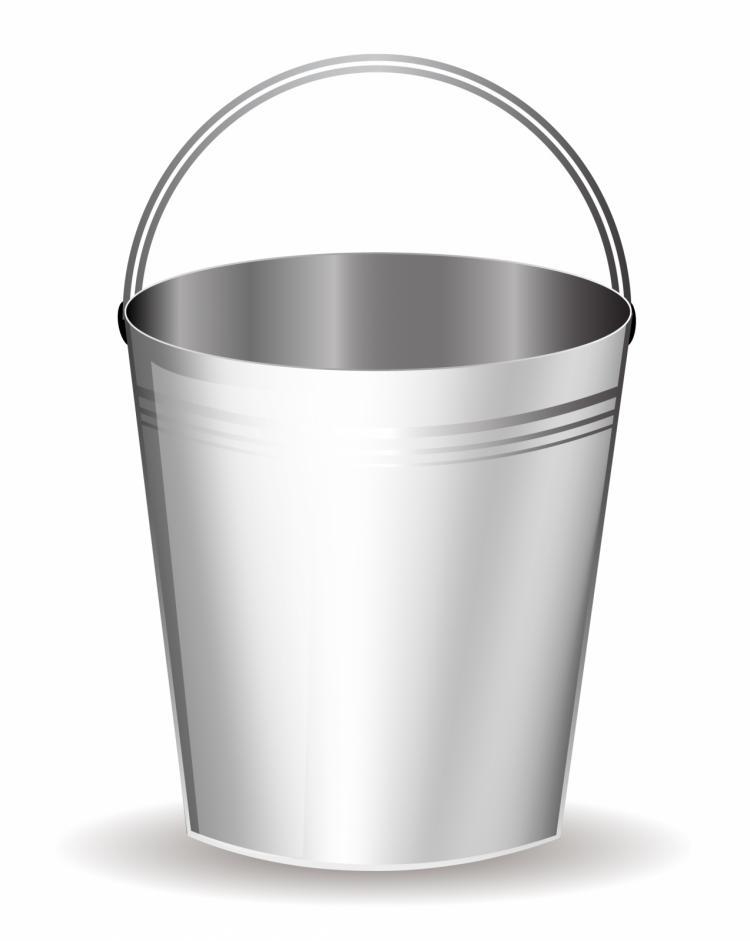 Bucket Free Vector