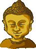 free vector Buddha Head clip art