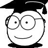 free vector Buddy Graduate clip art