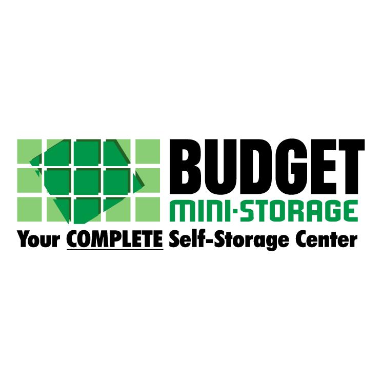 free vector Budget mini storage