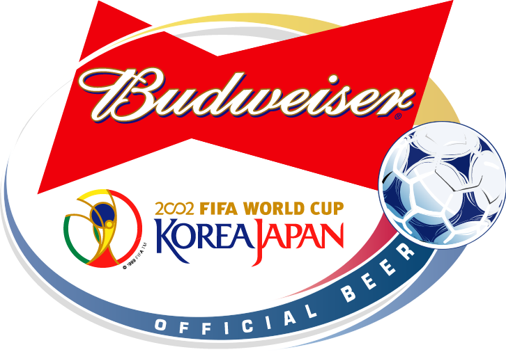 free vector Budweiser 2002 world cup sponsor
