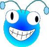free vector Bugs Head clip art