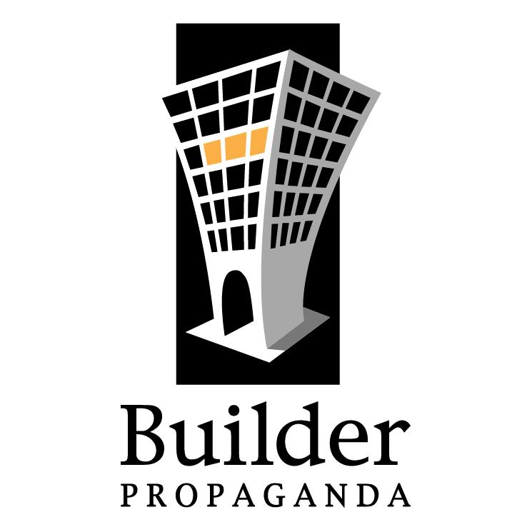 free vector Builder propaganda