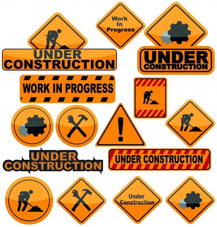 free vector Building and construction icons vector