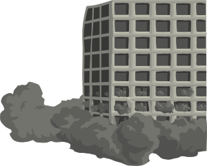 free vector Building Demolishion clip art
