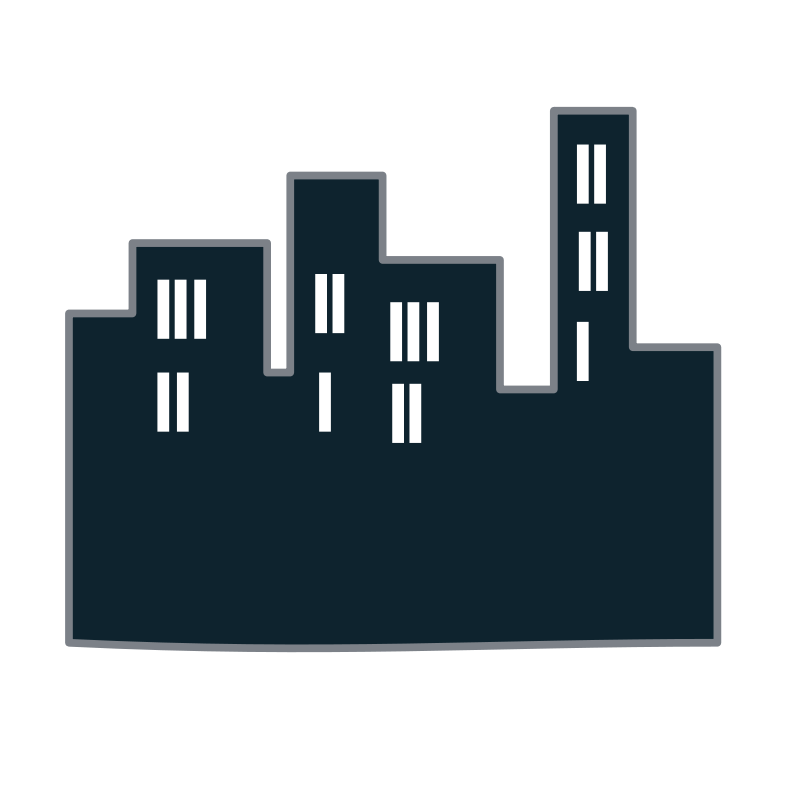 Buildings icon Free Vector / 4Vector