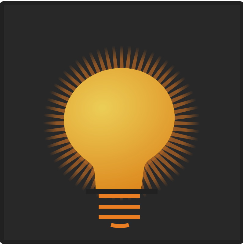 free vector Bulb icon