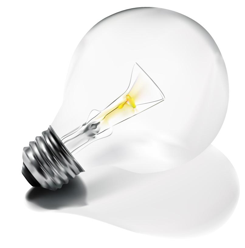 free vector Bulbs vector material