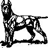 free vector Bull Terrier clip art