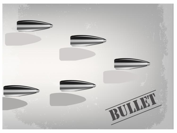free vector Bullet background