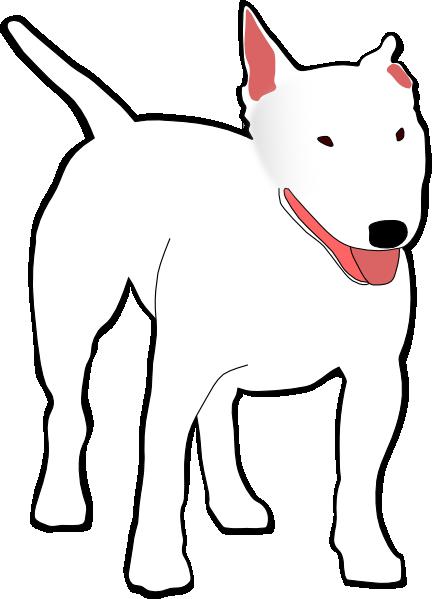 free vector Bullterrier clip art