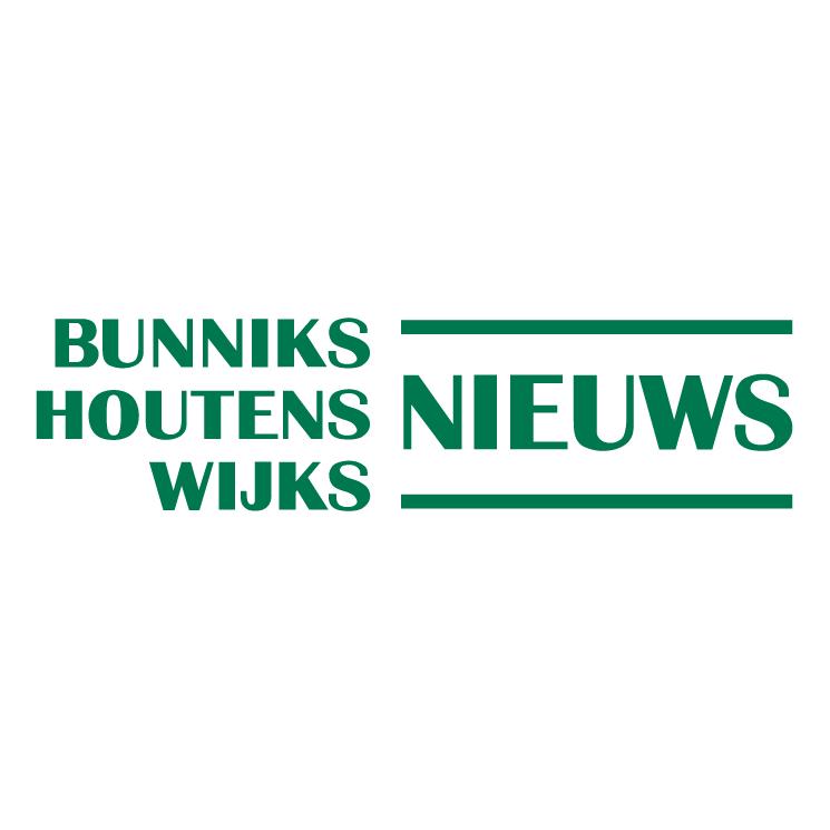 free vector Bunniks houtens wijks nieuws
