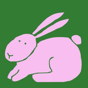 free vector Bunny clip art