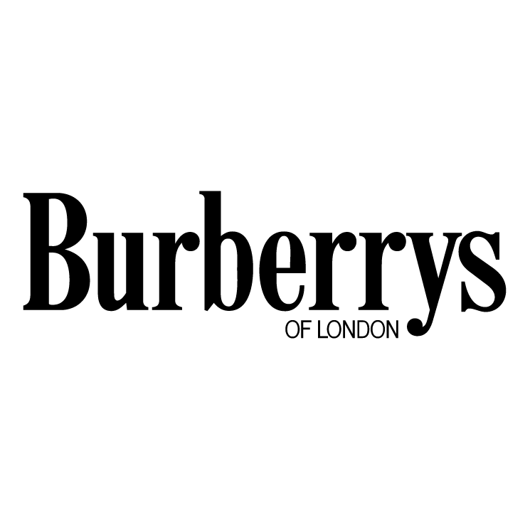 free vector Burberrys of london 0
